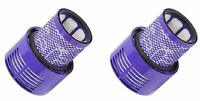 Vacuum Filter Compatible with Dyson Cyclone V10 Part # 969082-01, 2 Filters