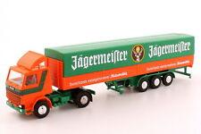 1:87 Scania R142 Sattelzug Pritsche/Plane Jägermeister - herpa 822008