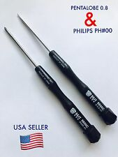 Pentalobe 5 point star+Phillips #00 Screwdriver Tools for iPhone 6 Plus 5.5  4.7