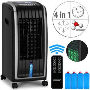 Climatiseur mobile 4en1 avec télécommande 3 vitesses Ioniseur humidificateur 5 L