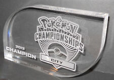 POKEMON: TROFEO - CITY CHAMPIONSHIP 2012 - IN PLEXIGLASS TRAPARENTE