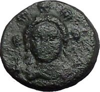 CHALKIS in EUBOEA 290BC Hera Eagle Serpent Authentic Ancient Greek Coin i48793