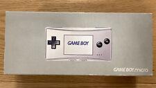 Nintendo Gameboy Micro silber/ GBA Advanced / Neu / Konsole