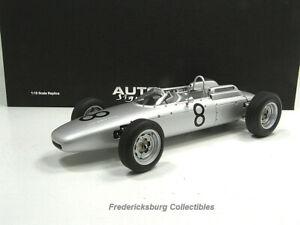 AUTOART 1962 PORSCHE 804 F-1 #8 - JO BONNIER - NURBURGRING - NMBRD LTD EDITION