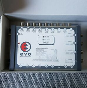 Satellite Multiswitch EVO 94B, 9 IN X 4 OUT