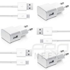3 x 2A Caricabatterie Cavo di ricarica USB DATI COMPATIBILE CON SAMSUNG GALAXY