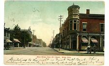 Niles Ohio OH - MAIN STREET FROM MILL STREET - Postcard