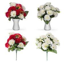 Rose Plastic Bush Dried & Artificial Flowers