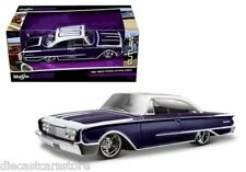 "Maisto 1960 Ford Starliner Viola "" Outlaws "" 1/26 Automodello Metallo 31038"