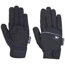 Trespass Cruzado Men Black Waterproof Gloves Winter Reflective Neoprene Mitts