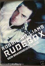 "Robbie Williams ""Rudebox - Sein Brandnneus Album"" German Promo Poster"