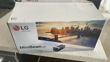 LG Mini Beam TV HF65FA FULL HD DLP Projector Home Theater - Black