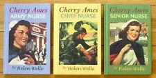 Lot 3 CHERRY AMES Books Helen Wells Army Chief Senior Nurse 2006 Lk New L1