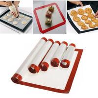 Baking Mat Oven Baking Tray Sheet Non-Stick Silicone Baking Pad Mat Cake Cookie