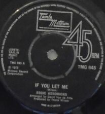"EDDIE KENDRICKS - If You Let Me ~ 7"" Single"