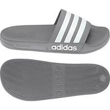 Adidas Adilette Shower Badelatschen Badeschlappen Badeschuhe Grau/Weiß B42212
