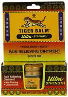 Tiger Balm Ultra Strength Pain Relieving Ointment Sports Rub 0.63 oz (2 Pack)