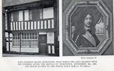 King Charles House - Worcester - Original Unused Real Photo Postcard (HHH)