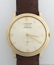 Longines Automatic Mens Vintage Wrist Watch Strong Running