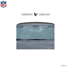 Brand New NFL Houston Texans Car Truck SUV Windshield Window Decal Sticker
