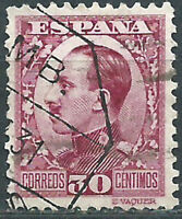 Spanien Loses 1930 Edifil 496 Gebraucht Alfonso XIII