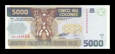 COSTA RICA 5000 COLONES 2005. PICK 268Ab. SC. UNC (Uncirculated)
