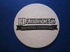 Beer Bar Coaster: HARRISON'S Brewing, Orland Park, Illinois USA ~ Opened in 1998