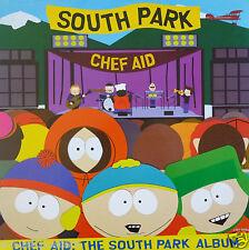 "SOUTH PARK ""CHEF AID"" AUSTRALIAN PROMO POSTER - Comedy & Alternative Rock Music"
