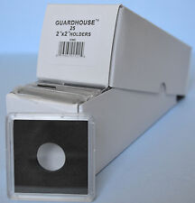 25 -18mm GUARDHOUSE 2x2 TETRA PLASTIC SNAPLOCK COIN HOLDER for DIMES