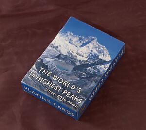 Jeu De 56 Cartes Les Sommets DE + 8000 M DE Himalaya au Nepal Peterandclo 7695
