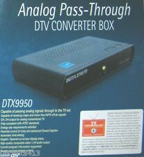 Digital to Analog Energy Star Approved Pass-Through DTV Converter Box (DTX9950)