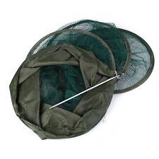 Fishing Mesh Net Basket Collapsible 5 Layers Foldable Fresh Water Black