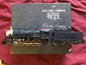 "United Scale Models/PFM Frisco SL&SF ""Russian"" Decapod 2-10-0 vintage brass HO"