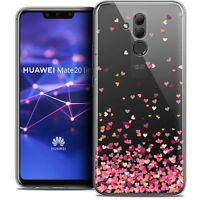 """Coque Gel Pour Huawei Mate 20 Lite (6.3"""") Souple Sweetie Heart Flakes"""