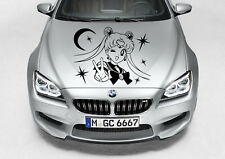 SAILOR MOON GIRL CUTE GIRL DECAL VINYL GRAPHIC HOOD CAR TRUCK