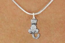 Save the Animals Crystal Cat Necklace