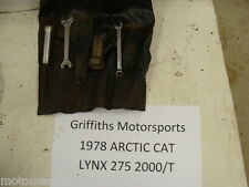 78 ARCTIC CAT lynx 275 2000/T 79 80 jag? puma? TOOL POUCH TOOLS KIT BAG WRENCHES