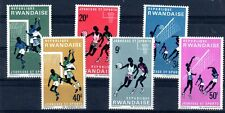 SPORT Rwanda 8 val de 1966 ** FOOT BASKET VOLLEY - PORT OFFERT