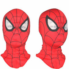 Kids Cosplay Super Hero Spiderman Mask Adult Fancy Dress Costume Party L50