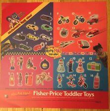 McDonalds Translite 2000 Barbie Hot Wheels POS. Free Shipping