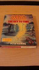 rare doctor who the key to time hardback book - signed by author -peter haining