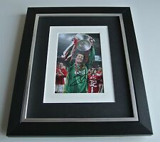 Edwin van der Sar SIGNED 10x8 FRAMED Photo Autograph Display Manchester United