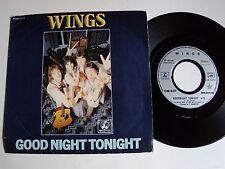 "WINGS: Good night tonight / Daytime Nightime 45T 7"" 1979 PARLOPHONE 2C 008 62579"