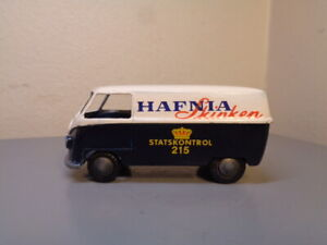 TEKNO DENMARK No 413 VINTAGE 1950'S VW VOLKSWAGEN HAFNIA SKINKEN VAN VERY RARE