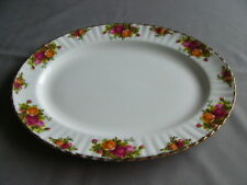 "Vintage Royal Albert First Quality Old Country Roses 15"" Meat/Serving Platter"