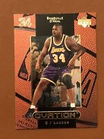 1999 Upper Deck Ovation Shaquille O'Neal Card #27 MINT Shaq Lakers
