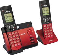 Renewed Vtech Cordless Telephone and Digital Answering System with 2 Handsets