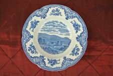 Johnson Brothers OLD BRITAIN CASTLES Blue Soup Bowl England, Chatsworth