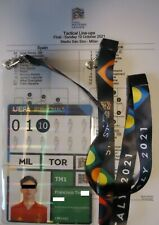 TICKET Player Pass Final 10.10.2021 Spain Spanien - France Frankreich# N° 3