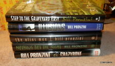 Bill Pronzini Mystery Novels HC Signed Copies GET ALL 5 Book Lot